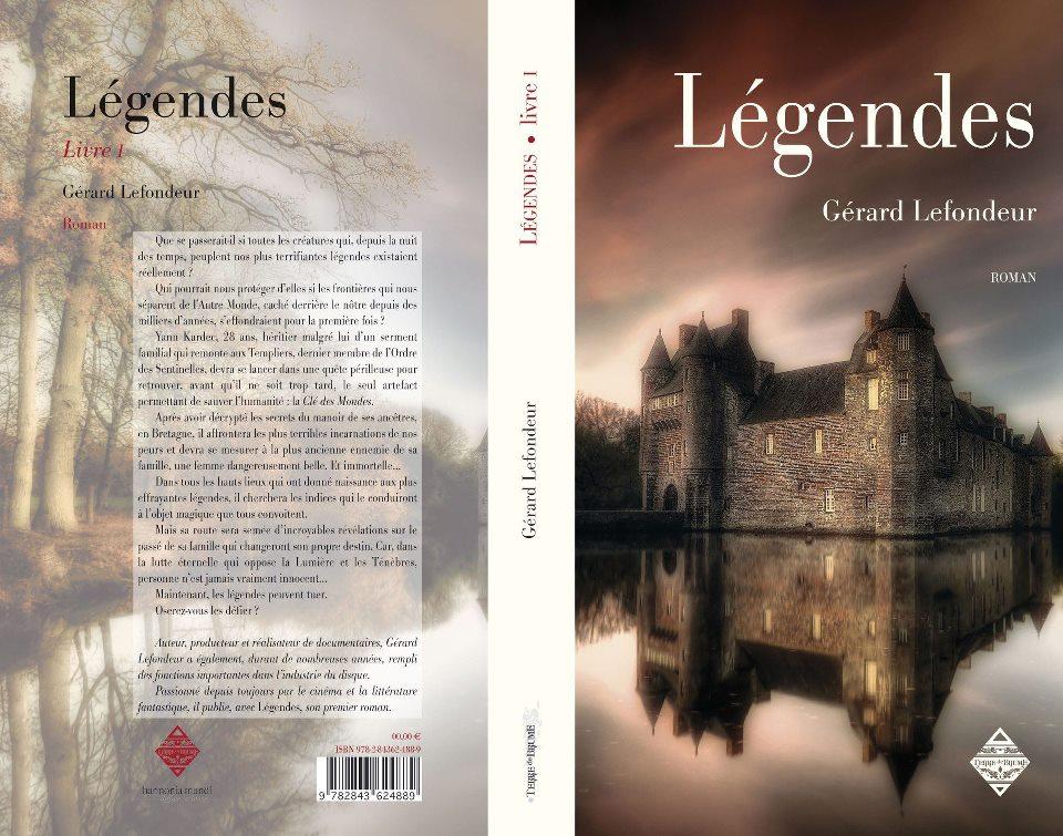 legendes, le livre